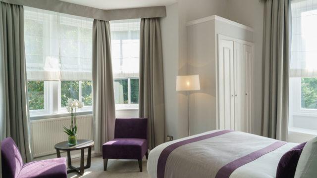 una habitacion del hotel New Bath