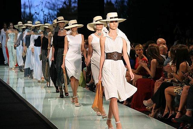 Languages for fashion catwalk